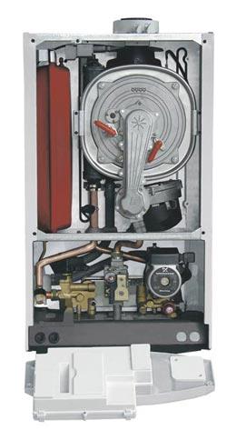 СХЕМА КОТЛА WESTEN PULSAR 240 i двухконтурный (дымоходный, навесной) - компактный повышенной комфортности.