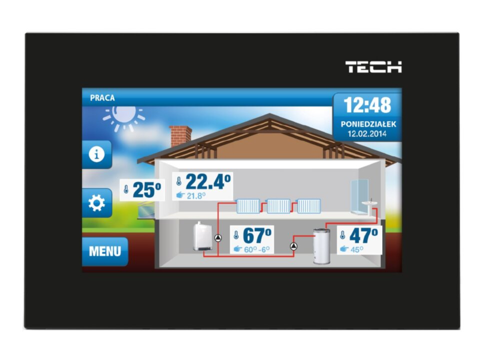 TECH ST-2801 WiFi OpenTherm